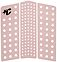Photo of Creatures of Leisure Front Deck 111 Cord Traction Dirty Pink