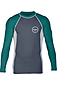 Photo of Xcel Men's Huntington LS UV Fitted Rash Vest Gun Igry Spu
