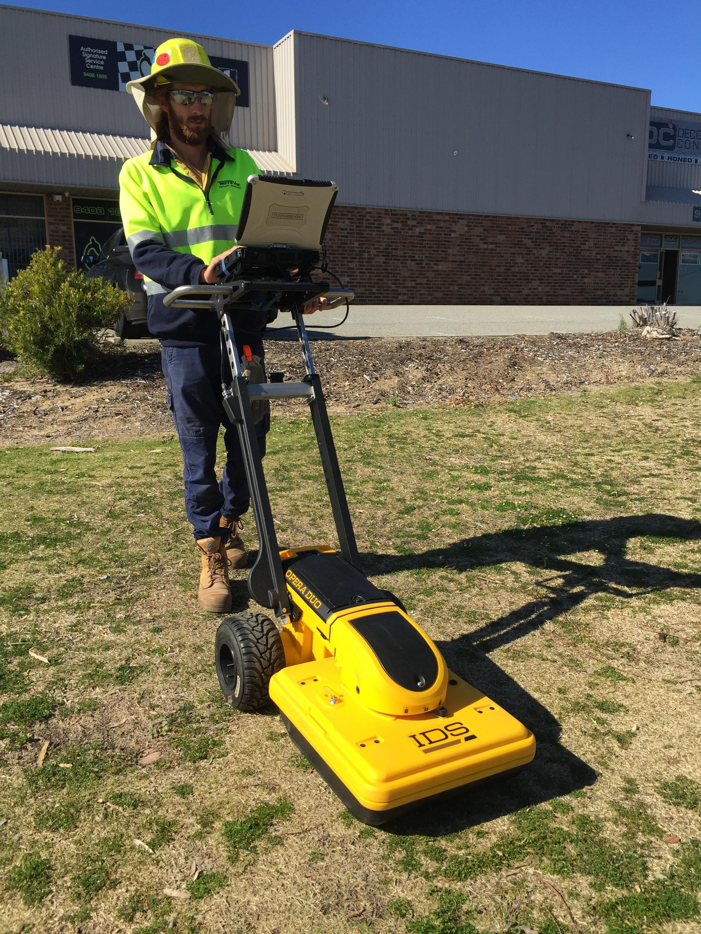 TerraVac Ground Penetrating Radar GPR
