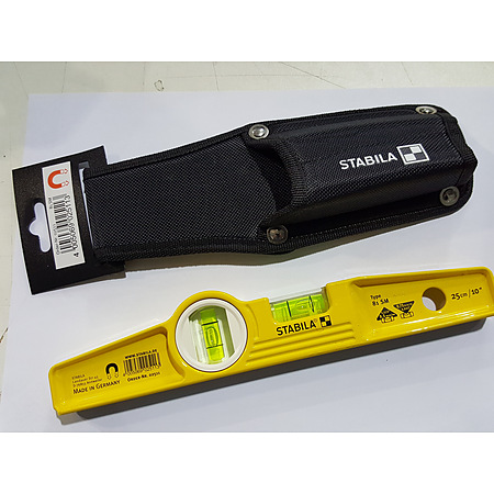 Stabila 250 mm Magnetic Scffold Level - Image 1