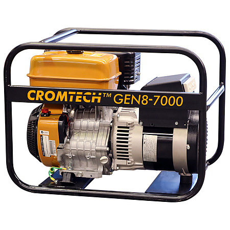Cromtech Gen8 7000 watt Generator with Subaru Engine