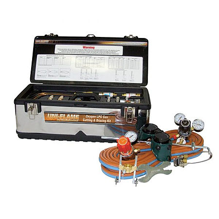 OXYGEN LPG Gas Cutting and Brazing Kit