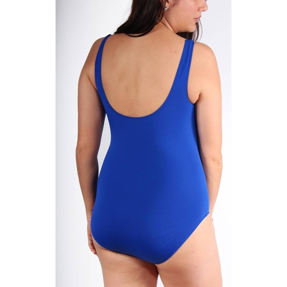 One Piece with Gathering Chlorine Resist Cobalt - Image 2