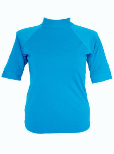 Short Sleeve Rash - Teal  S - XL - Image 1