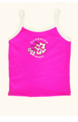 Girls Tankini Top - Pink