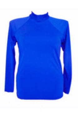Long Sleeve Rash  - Cobalt  S - XL