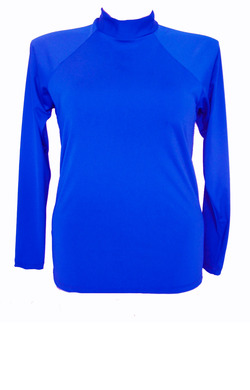 Long Sleeve Rash - Cobalt 2XL - 4XL