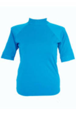 Short Sleeve Rash - Teal  S - XL