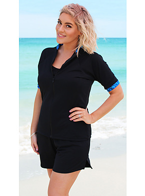 more on Zip Short Sleeve Rash - Marbella 2XL - 4XL