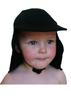 Girls Pool hat - Black