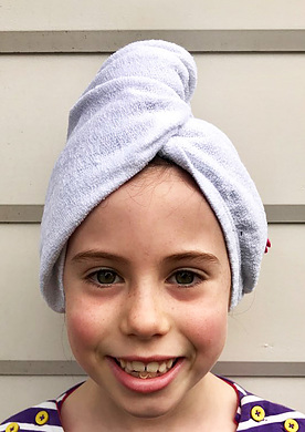 Towelling Turban for Kids