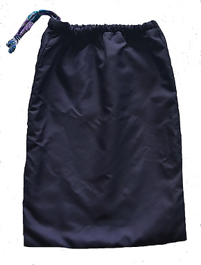 Water Resistant Wet Bag Navy Small