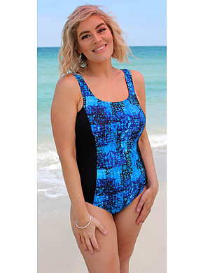One Piece Marbella Chlorine Resist Mastectomy