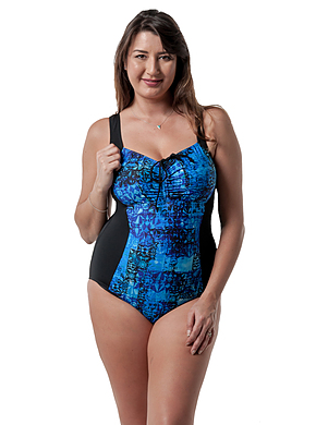One Piece with Gathering Chlorine Resist Marbella