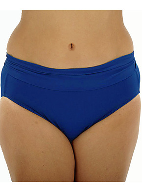 more on Roll Top Pants - Cobalt CR