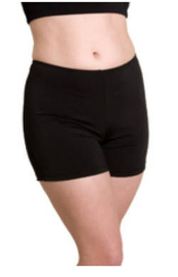 Long Boyleg shorts Black Chlorine Resist