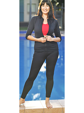 Leggings - Chlorine Resistant Plus Size