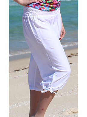Beach Pants - White