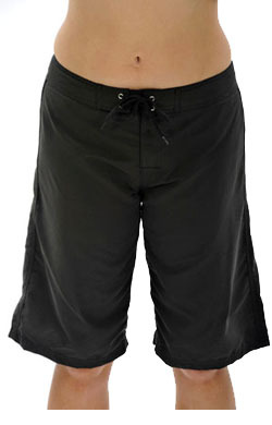Long Boardshorts - Black