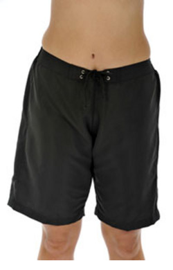 Mid Length Board shorts - Black