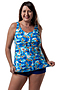Tank Top Blue Hawaii - Lycra
