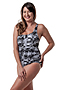 more on Ladies Racing Bather - Elite Print Chlorine Resist