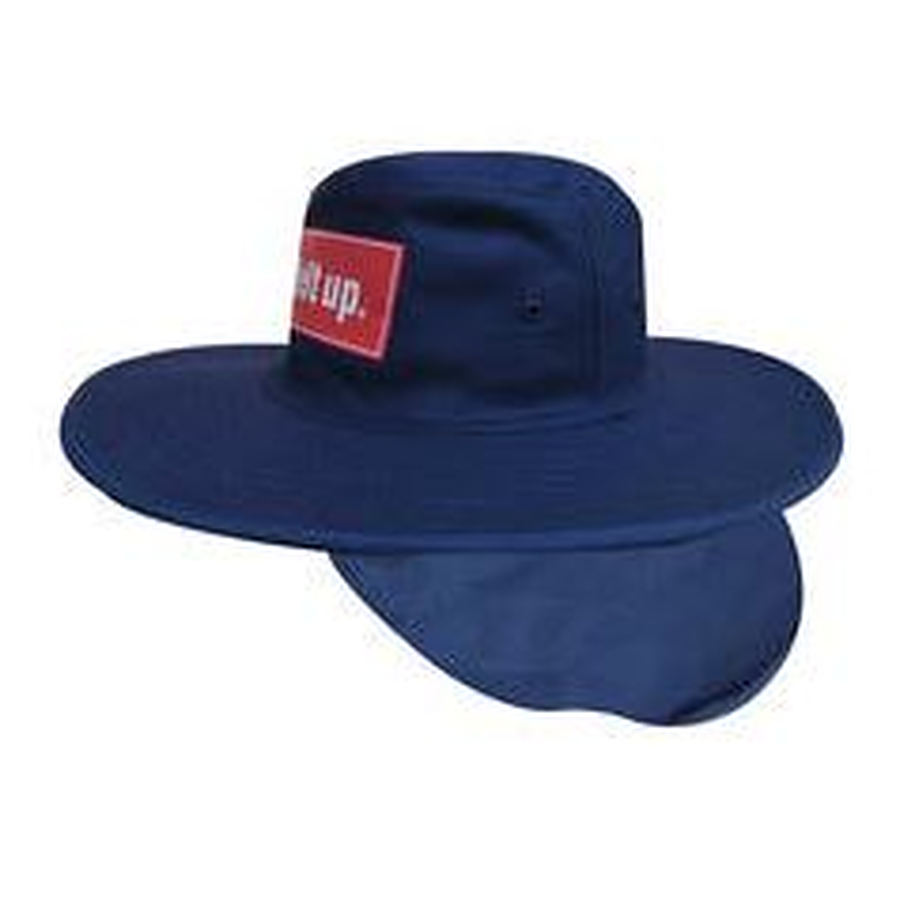 Canvas Hat with flap - 4055 - Image 1