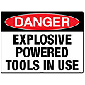 Explosive Powered Tools In Use