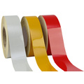 75mm x 45.7mtrs Class 2 reflective tape - single colour