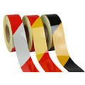100mm x 45.7mtrs class 2 reflective tape – striped