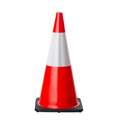 700mm Orange Cone - Reflective