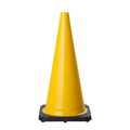 700mm Yellow Cone - NON Reflective