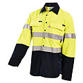 HRC1 HI-VIS 2-TONE LIGHTWEIGHT SHIRT WITH REFLECTIVE TAPE