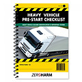 Heavy Vehicle Pre-Start Checklist Book