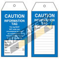 Caution Tags PKT 25 - 145 x 75mm
