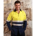 Hi-Vis Light Weight Long Sleeve Reflective Shirt with 3M Tape