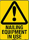 Nailing Equipment - Nail Gun In Use