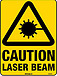 Caution Laser Beam