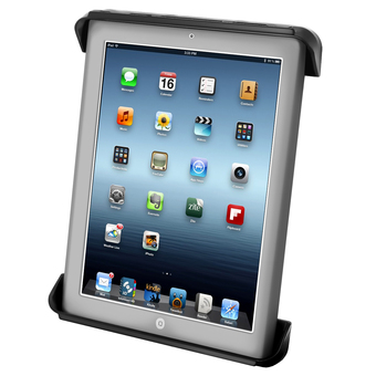 more on RAM-HOL-TAB3U  RAM Tab-Tite  Cradle for the Apple iPad 1-4 WITH OR WITHOUT LIGHT DUTY CASE